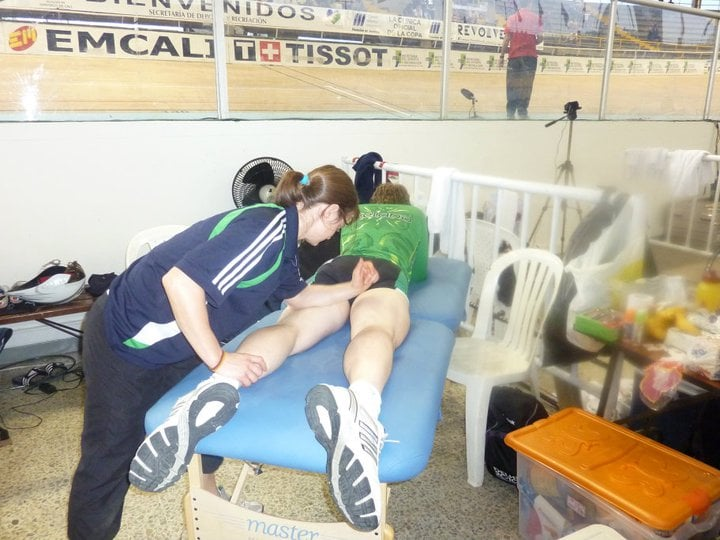 Track Cycling World Cup Massage Cycling Injuries